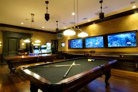 furniture scenic design ideas for game and entertainment rooms
