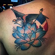 dominican flag tattoos pictures to pin on pinterest tattooskid