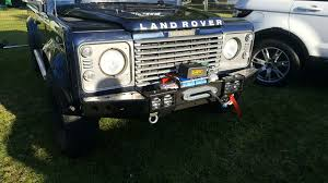 Raptor 4x4 Front Squared Winch Bumper With Winch Land Rover