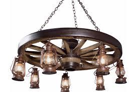 wagon wheel light fixture large wagon wheel chandelier with lanterns cast horn designs
