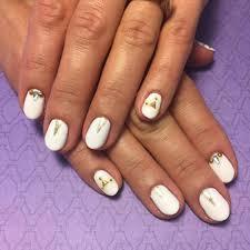 cute nail designs white super cute pink white star nail art