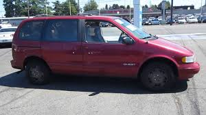 nissan quest 1996 1995 nissan quest photos specs news radka car s blog