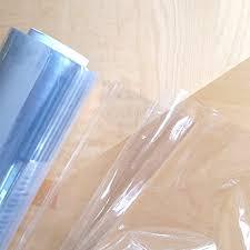 clear vinyl table protector pvc crystal clear vinyl table protector per meter 55 inches 140cms
