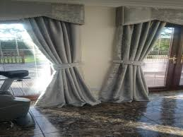 Velvet Curtains Living Room Grey Velvet Curtains With Grey Ceramic Floor And