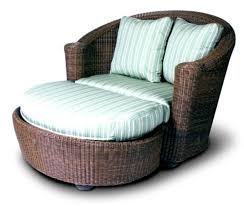 Patio Chair With Ottoman by Fabulous Outdoor Lounge Chair With Ottoman Patio Things Brown