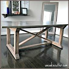diy concrete table top delightful concrete table top diy concrete dining table diy for less