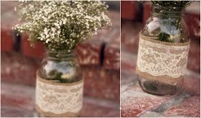 jar center pieces domesticated delight wedding planning wednesday diy jar