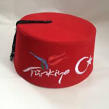 Ottoman Cap Turkish Fez Fes Tarboosh Ottoman Hat Turkiye Crescent