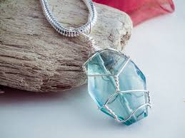make crystal pendant necklace images 6 step wire wrapped pendant tutorial jpg