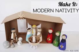 wooden nativity set how to make a wooden diy nativity set diy candy