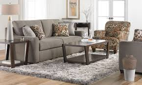 Klaussner Coffee Table by Klaussner 87 Inch Argos Sofa In Charcoal Haynes Furniture