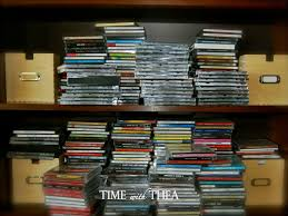 how to organize and store a cd collection time with thea