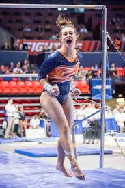 Illinois women 39 s gymnastics travels to iowa after home victory