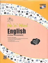 saraswati me u0027n u0027 mine english pullout worksheets for class 6 cbse