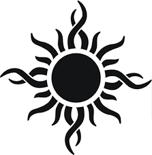 godsmack tribal sun large tattoos tribal