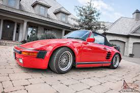 porsche slant nose 1988 porsche 911 slant nose 930 conversion cabriolet