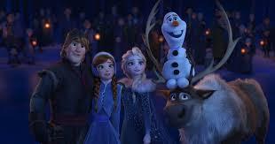 frozen returns big screen