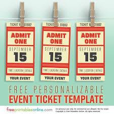 25 trending concert ticket template ideas on pinterest free