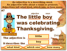 adjectives lesson plans activities to review adjectives with