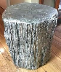 Tree Stump Side Table Side Table Tree Stump Side Table White Tree Stump Coffee Table