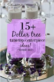 table top decoration ideas 15 dollar tree tabletop ideas debbiedoos
