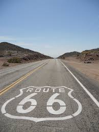 Original Route 66 Map by Route 66 Day Twelve The Last Stretch Of Desert Paul Hogarth U0027s