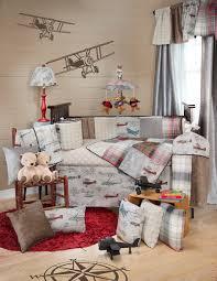Vintage Aviator Crib Bedding Pink Airplane Crib Bedding Airplane Crib Bedding For Both Baby