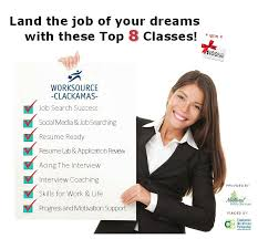 Resume And Interview Coaching Worksource Clackamas Workshops