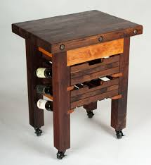 decor walnut butcher block countertop with white cabinets for hand made cherry and walnut butcher block with wine rack for kitchen furniture ideas