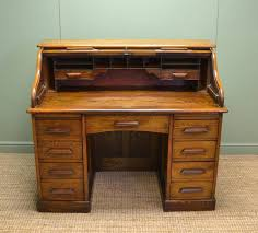 Antique Roll Top Desk by Superb Quality Edwardian Solid Oak Antique Roll Top Desk C 1910