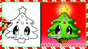 easy christmas tree drawing easy drawings how to draw christmas