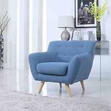 Modern Accent Chairs For Living Room by Amazon Com Mid Century Modern Tufted Button Living Room Accent