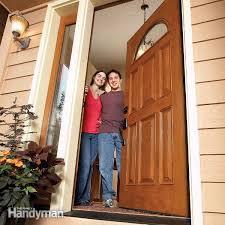 Replacing Exterior Doors Install Exterior Door Brilliant Decoration How To Install An