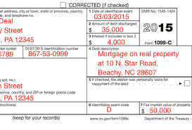 understanding your tax forms 2016 form 1099 c cancellation of debt