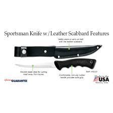 rada kitchen knives sportsman knife w leather scabbard item r210 rada kitchen store