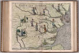 Historical Description Of Suffolk England Parte Of Suffolk Essex David Rumsey Historical Map Collection