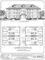 Multi Unit Apartment Floor Plans 12 Plex 43x88 Apartment House Plan Ideas Pinterest Building