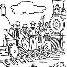 amazing steam train on railroad coloring page color luna
