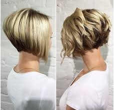 diy cutting a stacked haircut 38 super cute ways to curl your bob popular haircuts for women