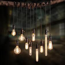 single light bulb with cord vintage edison bulb pendant l bulb chandeliers pendant ceiling