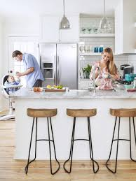 Long Galley Kitchen Kitchen Style All White Kitchen Minimalist White Floating
