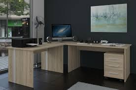 Eckschreibtisch Nussbaum Computer Tisch Pc Workstation Schreibtisch Discount Moebel24 De