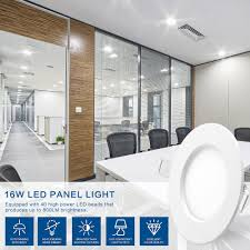 wifi led recessed lights 16w led panel light wireless wifi controller led recessed lighting