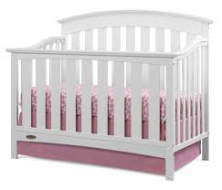 White Convertible Baby Crib Graco Arlington 4 In 1 Convertible Crib Baby Safety Zone