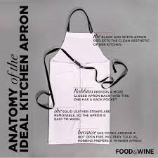 anatomy of the ideal kitchen apron food u0026 wine