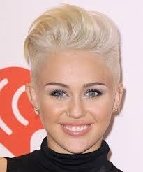 miley cyrus type haircuts miley cyrus short straight alternative hairstyle light blonde