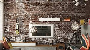 urban touch with exposed brick walls flooringmost com