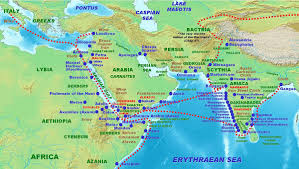 The Red Sea Map Indo Roman Trade Relations Wikipedia