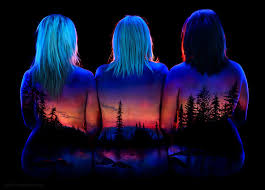 Black Light Body Paint These Amazing Body Paintings Can Only Be Seen In The Dark Globeprime