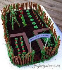25 garden birthday cake ideas garden cakes